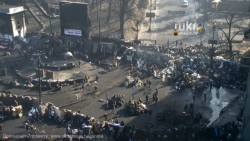 11:33 Screenshots of online TV situations in Kiev on February 20