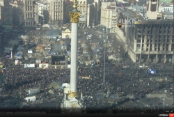 11:35 Screenshots of online TV situations in Kiev on February 20