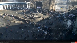 12:27 Screenshots of online TV situation in Kiev on February 20