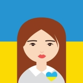Patriotic avatars of Ukrainians
