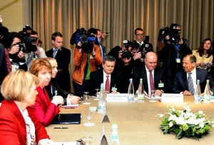The meeting in Ukraine in Geneva lasts already the seventh hour. PHOTO