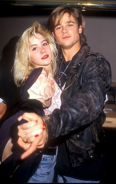 Brad Pitt and Christina Applegate