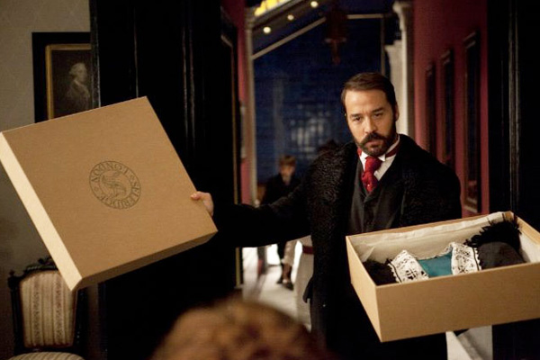 "A shot from the serial ""Mr. Selfridge"""