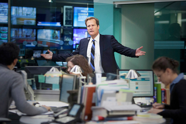 "Shot from the series ""Newsroom"""