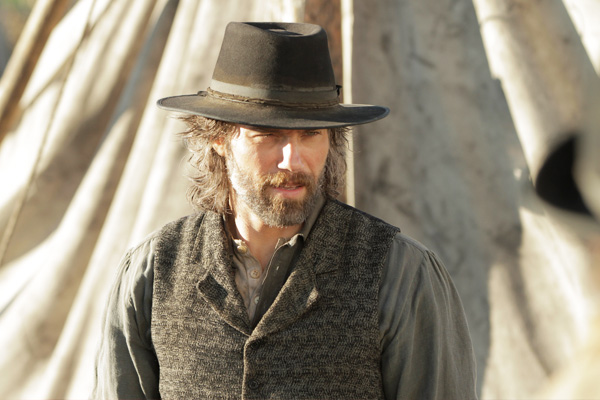 "A frame from the series ""Hell on Wheels"""