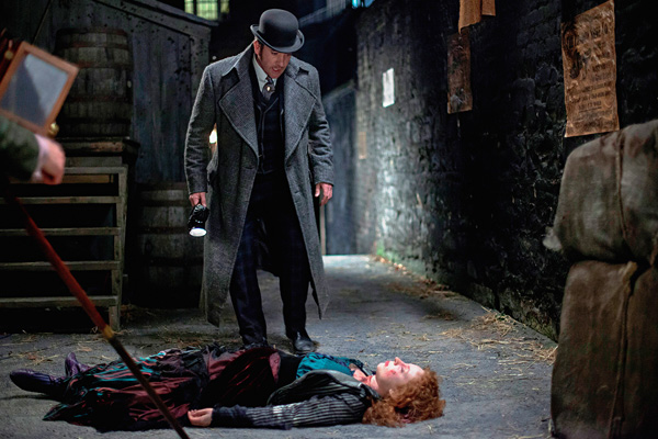 "A shot from the series ""Ripper Street"""