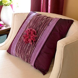 DIY pillow decor