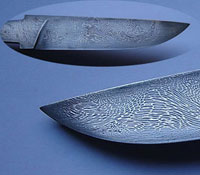 How to make a knife of Damascus steel