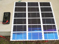 Solar battery with own hands