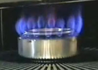 Homemade alcohol burner for 20 minutes