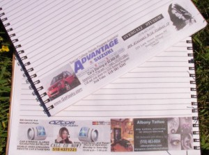 Free promotional notebooks for students