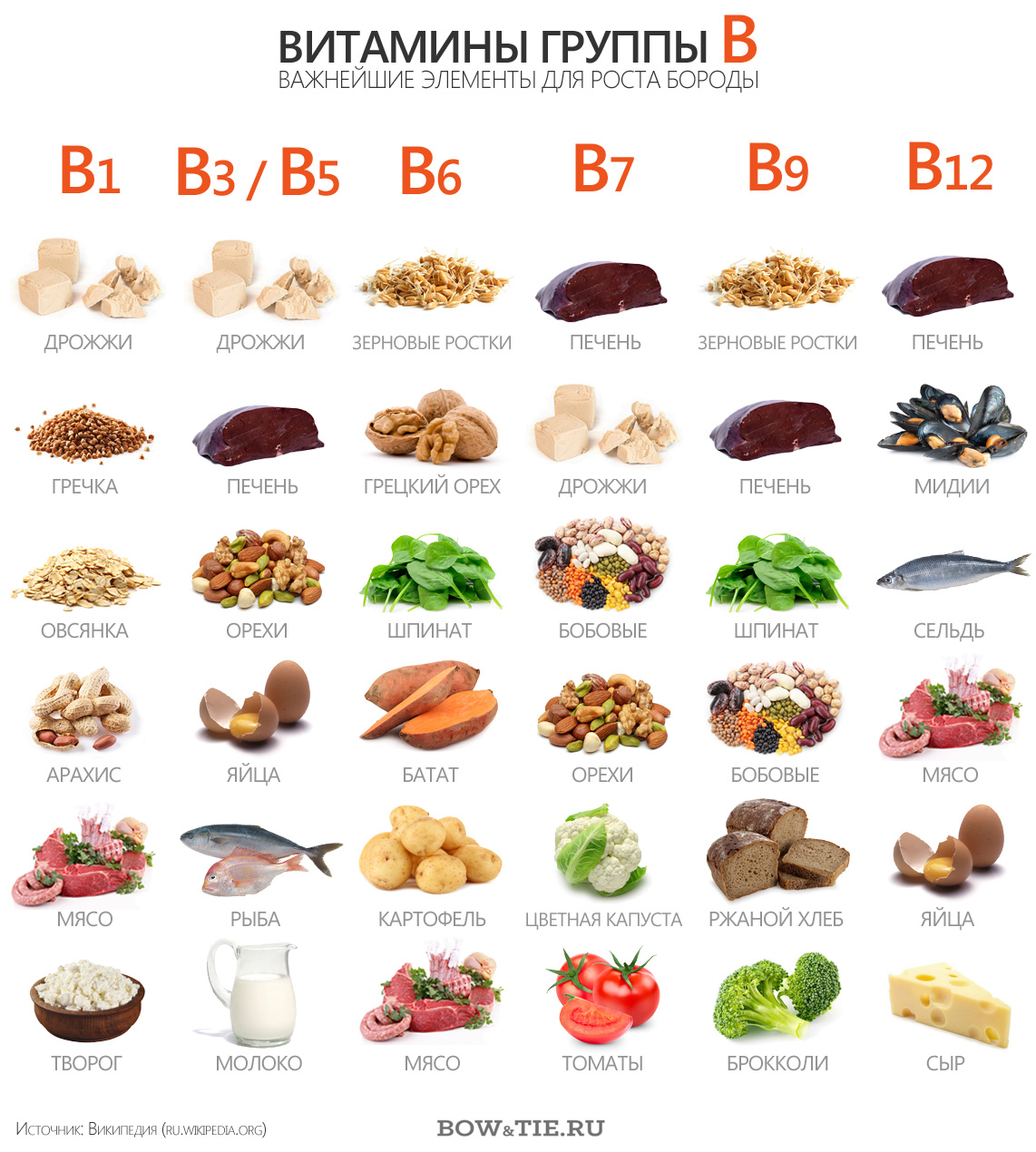 Infographics All about vitamins