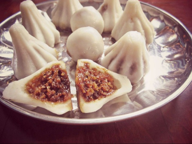 Indian Modak - Dumplings from around the world