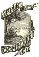 First Apple logo