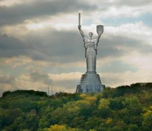Monument to Motherland - Mother (Kiev)