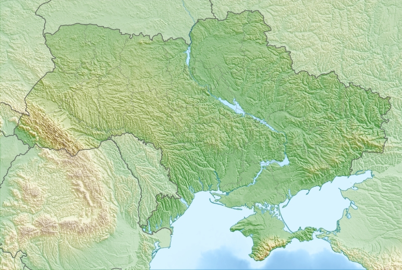 Detailed relief map of Ukraine 1720x1157