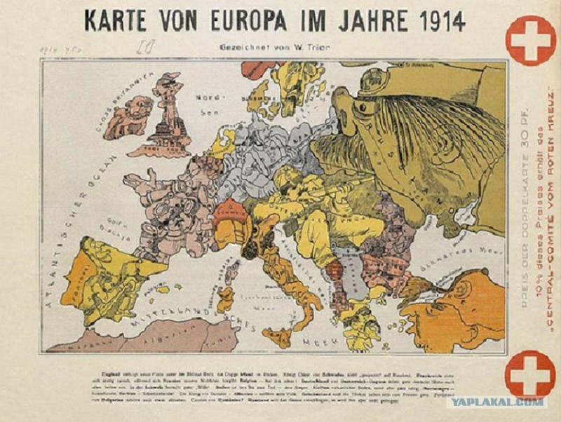 Old maps of Europe