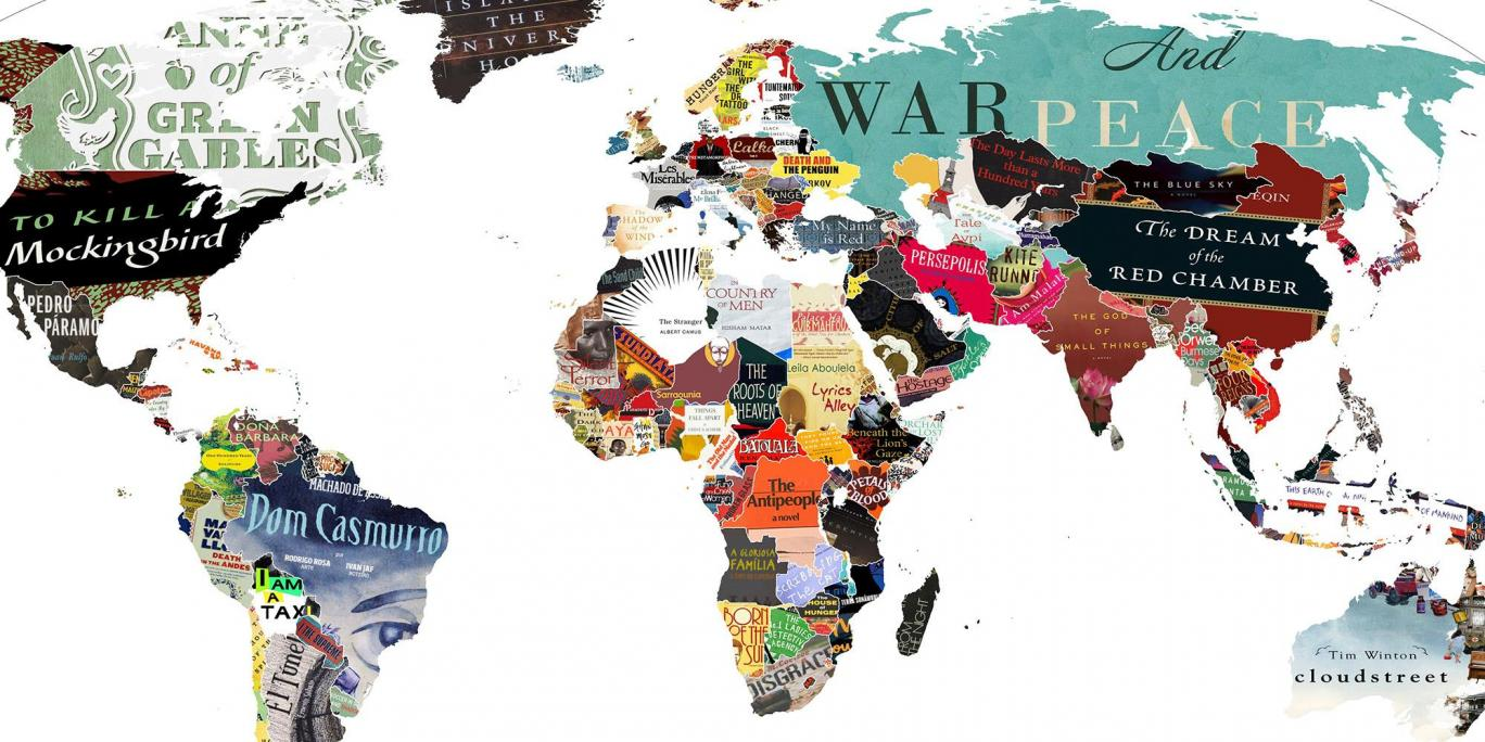 Literary Map of the World