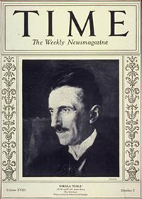 The main dates of Nikola Tesla's life