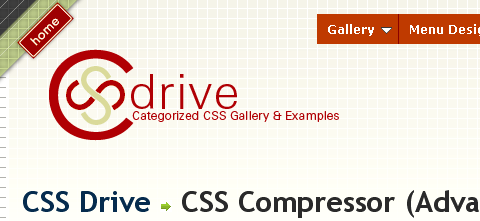 Online services for compressing and optimizing CSS code