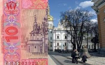 History of the Ukrainian hryvnia, images on the hryvnia, emissions