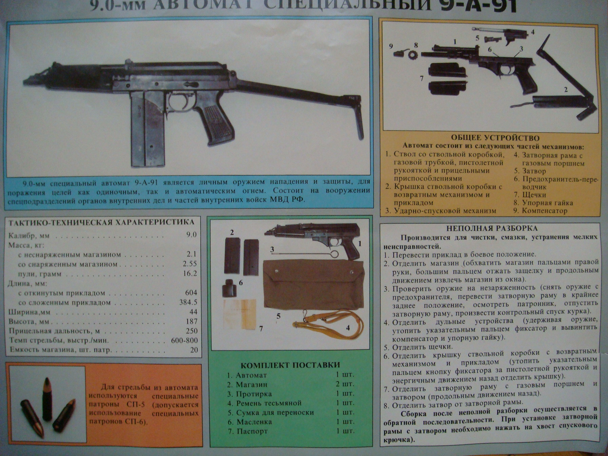 9.0 mm Automatic special 9-A-91